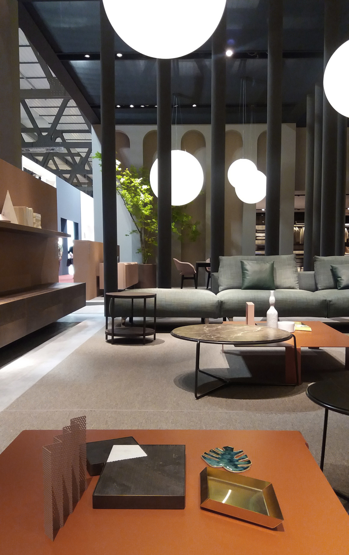 Former busnelli salone del mobile milano 2017 silvia for Salone del mobile hotel